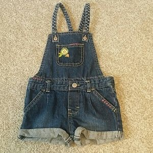 Genuine Kids Overall Shorts